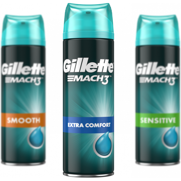 Gel Mach3 Extra Confort 200ml