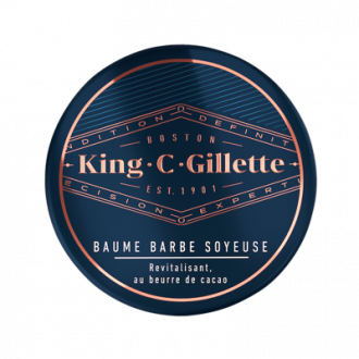 Baume à Barbe King C. Gillette